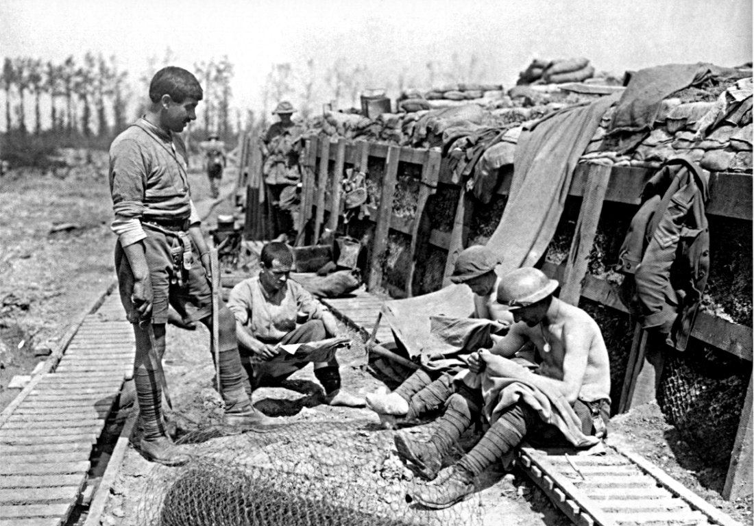 life in the trenches world war The memories of soldiers who fought in the trenches in world war one are a fascinating source about life in the war primary source memories from world war one have given historians a vast.